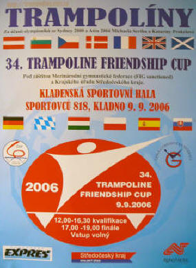 34th Friendship Cup Poster