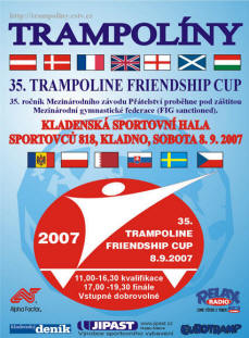 Kladno Friendship Cup poster
